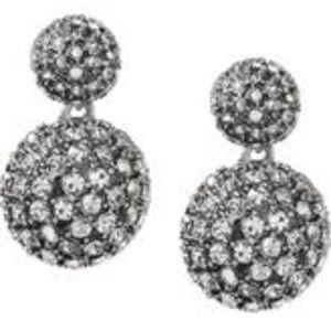 Banana Republic Fireball chandelier earrings, NEW